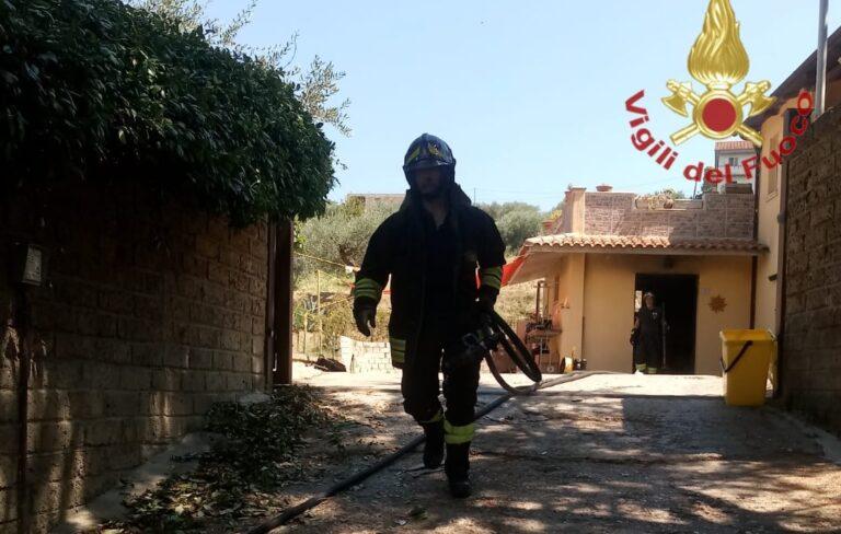 Moscufo, esplosione e incendio nella cucina di un'abitazione