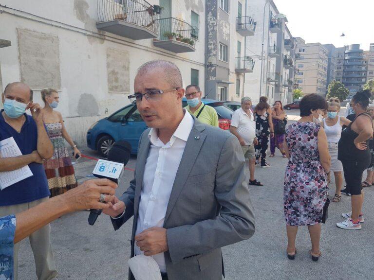 """Pescara, via Rigopiano: """"Appartamenti popolari vuoti lasciati agli spacciatori"""""""