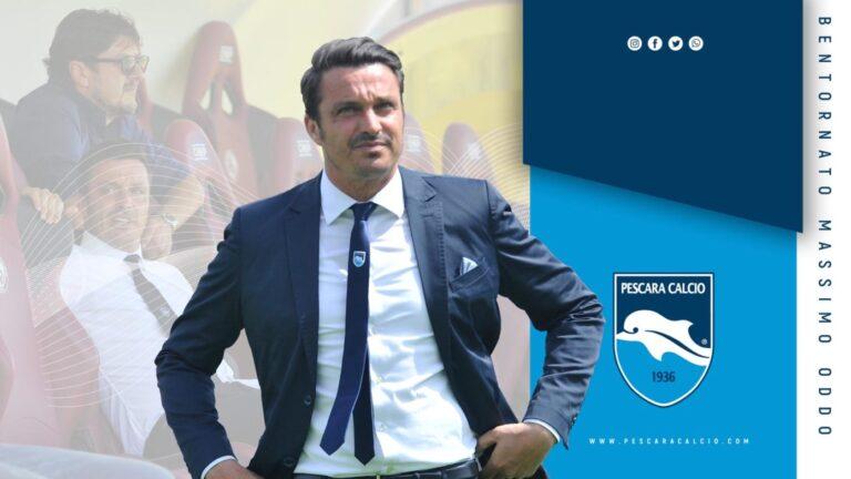 Massimo Oddo è il nuovo allenatore del Pescara