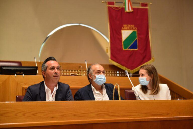 Migranti, i consiglieri regionali della Lega in visita a Civitella del Tronto