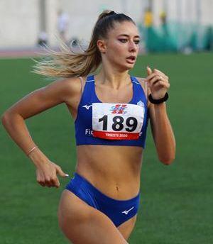 Atletica, Gaia Sabbatini guida i teramani ai Tricolori Assoluti