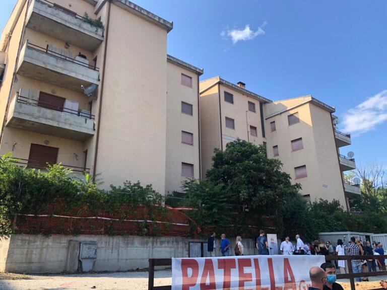 """Teramo, al via primo cantiere pubblico della ricostruzione: """"Lunga attesa una vergogna"""" FOTO VIDEO"""