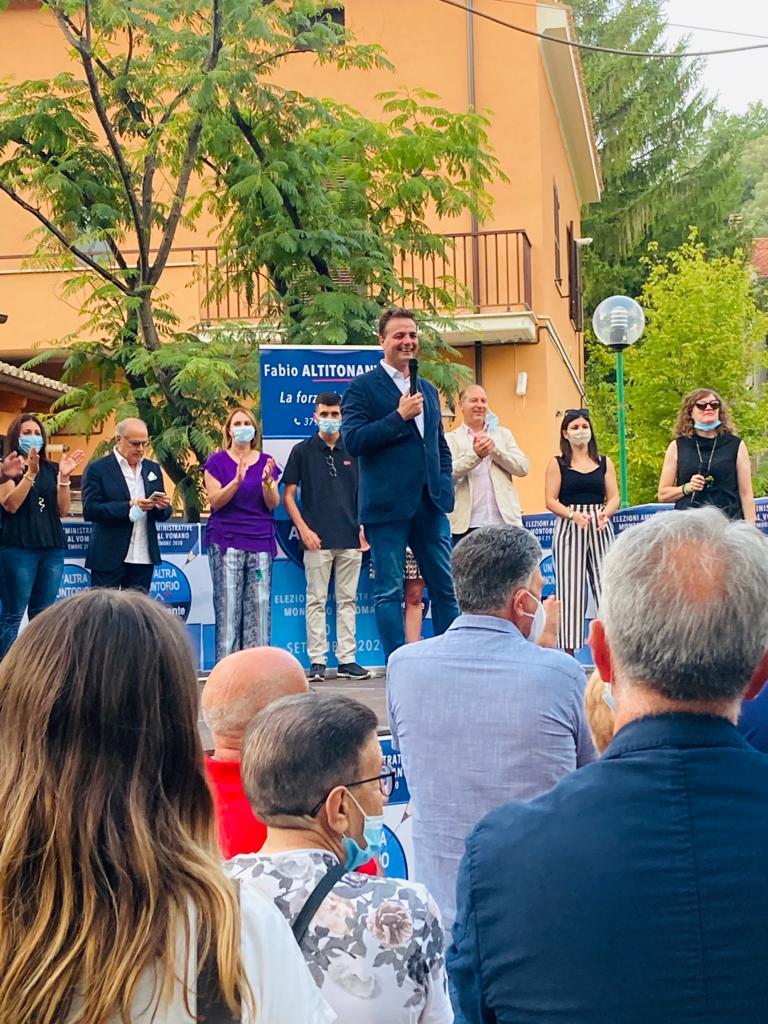 Elezioni Montorio: aperta la campagna elettorale di Fabio Altitonante FOTO