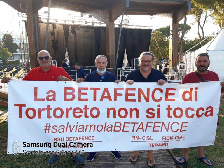 """Vertenza Betafence, Cisco """"ospita"""" nel concerto due dipendenti dell'azienda di Tortoreto"""