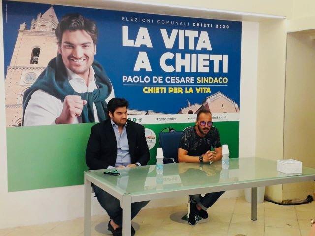 Elezioni Chieti, De Cesare: 'Riaprirò il Supercinema e lo intitolerò al Sindaco Cucullo'