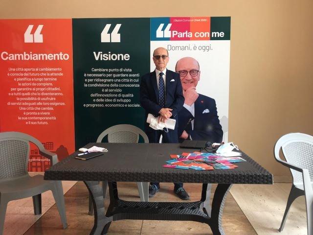 Ferrara: 'Ecco la squadra pronta realizzare il nostro programma di cambiamento per Chieti'
