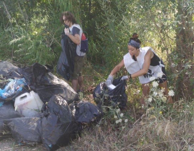 Una 'giornata ecologica' lungo le sponde nel tratto terminale del fiume Foro