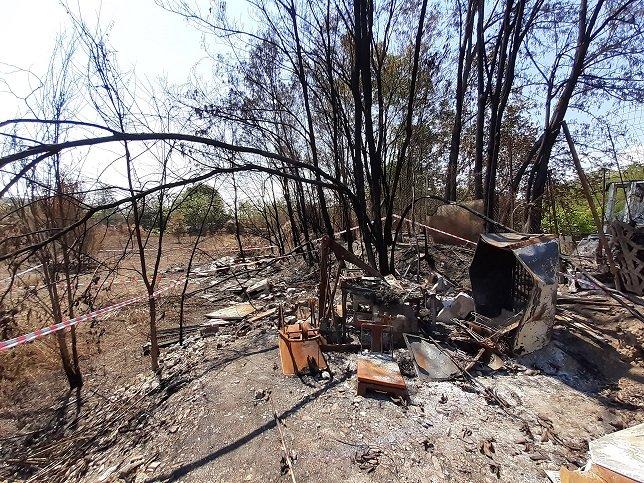 Incendio Cappelle: sequestrata una discarica abusiva di 700 metri quadrati
