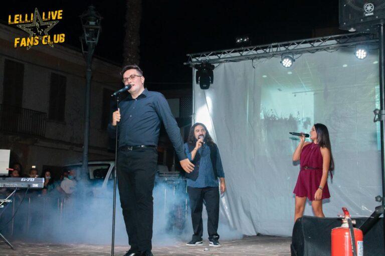 Mosciano, piazza gremita per il 'Lelli Live Summer Edition' FOTO