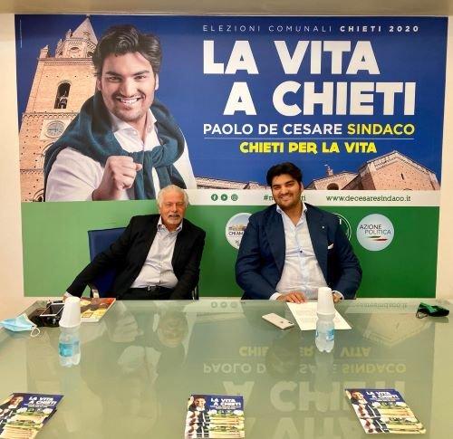 L'ex Questore di Chieti Vincenzo Feltrinelli si candida al fianco di Paolo De Cesare