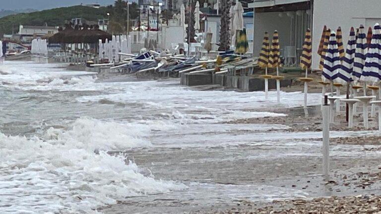 Alba Adriatica, erosione zona nord. M5S: solo misure spot. La campagna elettorale è finita da un pezzo