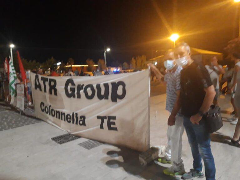 L'Italia che resiste: il fondo cassa del presidio dell'ATR donato ai colleghi della Betafence
