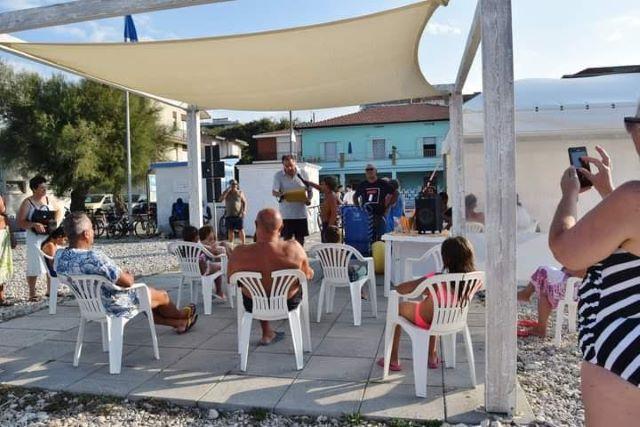 Nell'area 'Spiaggia per Tutti' di Fossacesia protagonisti i bambini per la difesa dell'ambiente