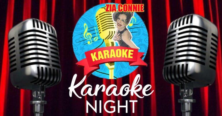 Karaoke night DOMENICA 25 OTTOBRE al VILLA LUIGI in totale sicurezza!