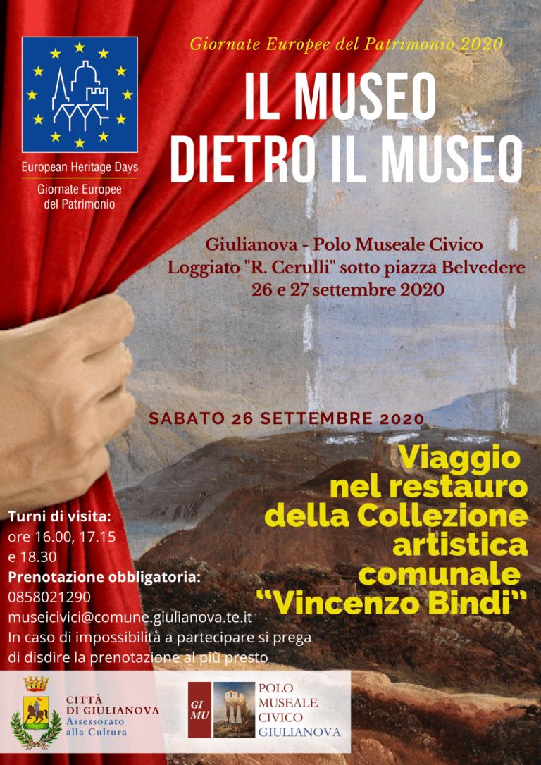 Giulianova, visita al 'dietro le quinte' dei restauri delle opere d'arte della Pinacoteca 'Bindi' e del deposito archeologico