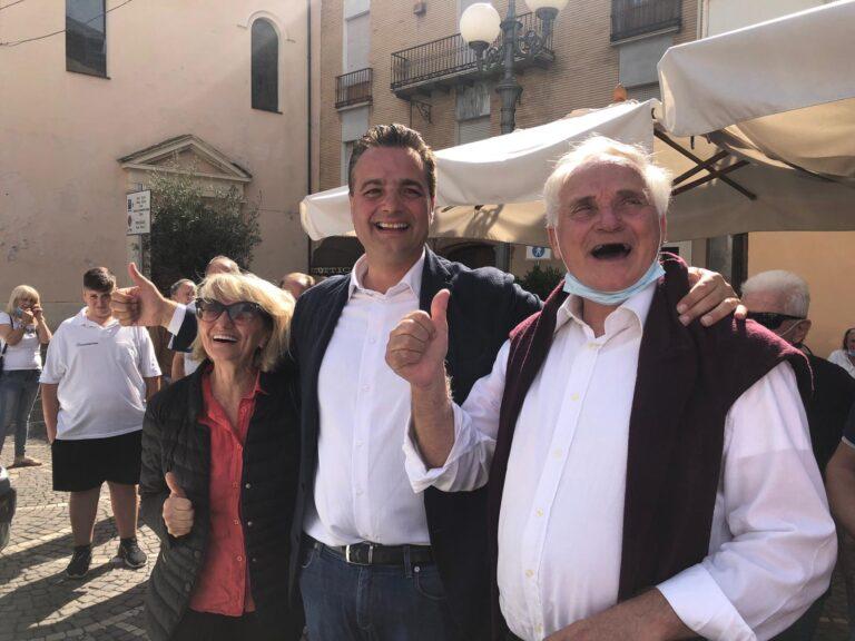 """Elezioni Montorio, il nuovo sindaco Altitonante: """"Emozionato, al lavoro da subito"""" FOTO VIDEO"""