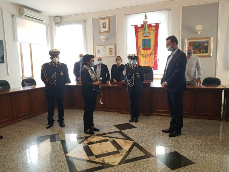 Montorio, il passaggio di consegne dal commissario Fabrizi al nuovo sindaco Altitonante