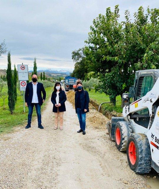 Giulianova, al via i lavori per l'estensione della rete del gas