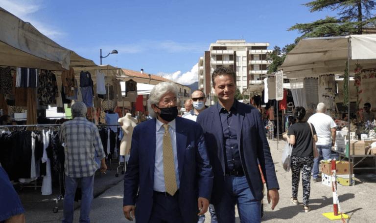 Elezioni Montorio, Antonio Razzi a supporto di Fabio Altitonante FOTO