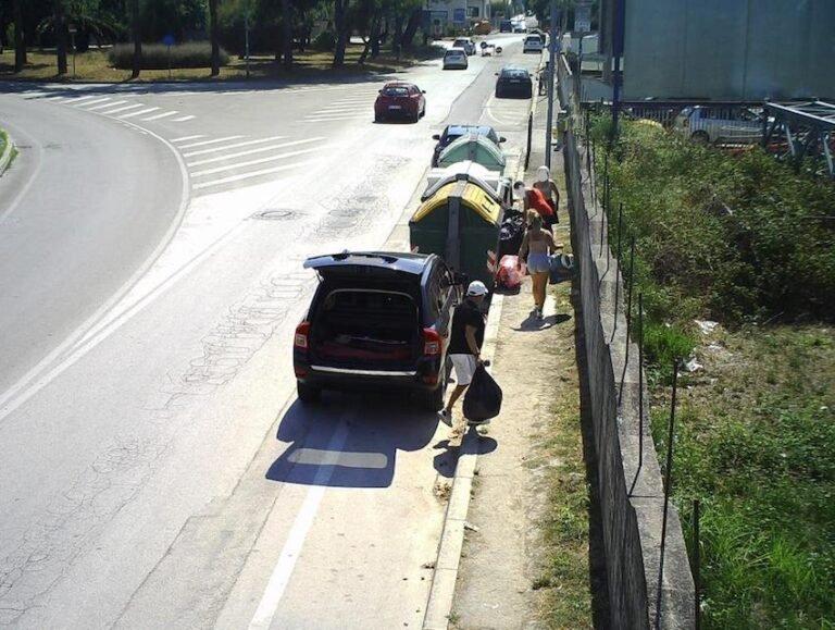 Montesilvano, rifiuti abbandonati: 19 presi dalle telecamere, multe per 6mila euro
