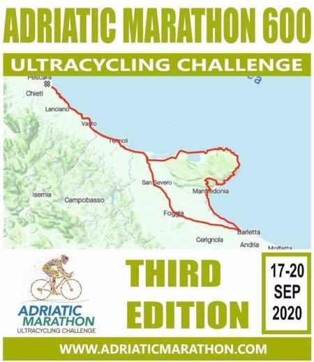 Ecco la novità del percorso di 600 chilometri dell'Adriatic Marathon Ultracycling Challenge