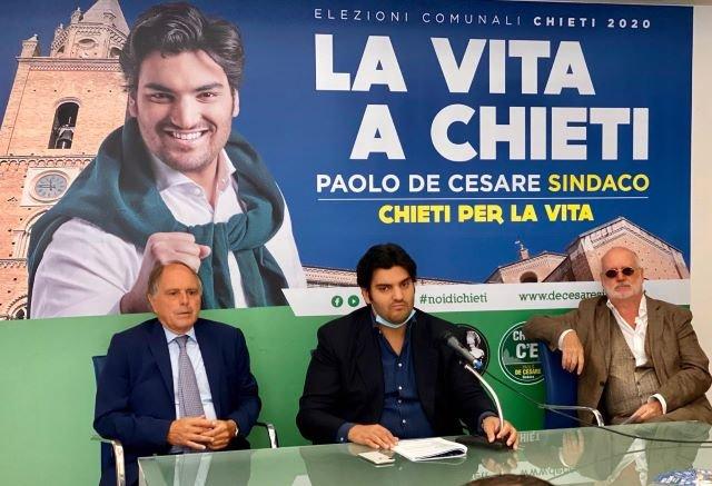 Elezioni Chieti, De Cesare parla di rigenerazione urbana con gli esperti Buzzetti e Bellicini