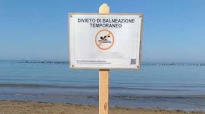 Martinsicuro, valori fuori norma: scatta il divieto di balneazione in due punti