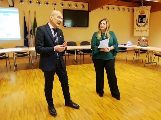 San Giovanni Teatino, l'amministrazione comunale saluta il dirigente scolastico Ettore D'Orazio