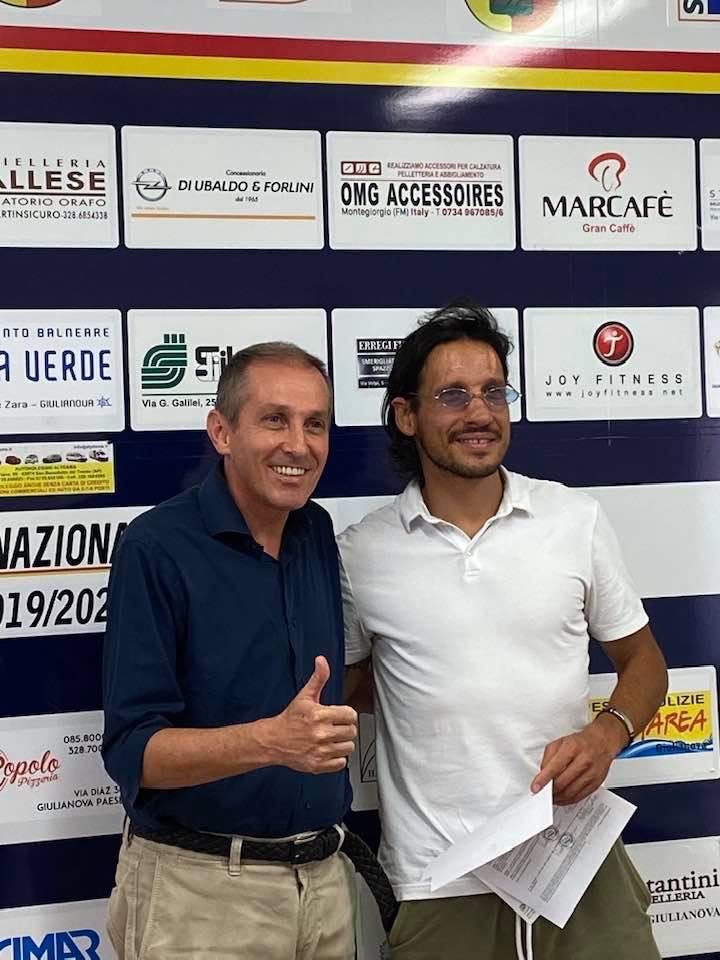 Serie D, il Real Giulianova 'riunisce' i gemelli: Cristiano Del Grosso firma con i giallorossi