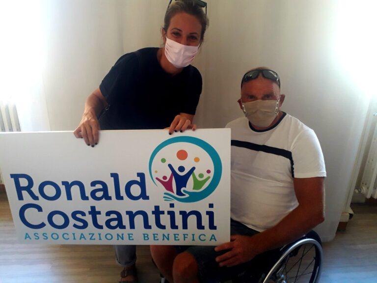 Giulianova, associazione Ronald Costantini 'aiuta' gli allenamenti di un pilota di alianti disabile