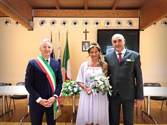 San Giovanni Teatino, matrimonio in Comune per il Comandante della Stazione dei Carabinieri Luigi Sicignano