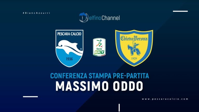 Il Pescara e Oddo pronti a ripartire dal Chievo-VIDEO