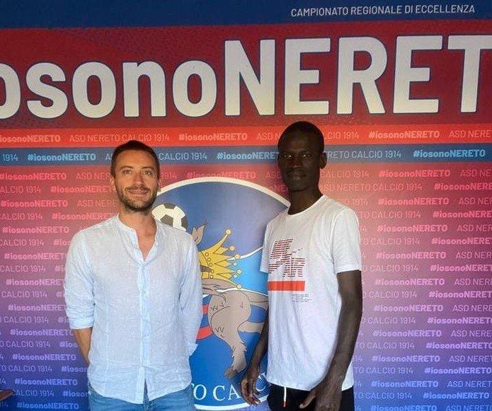 Eccellenza, rinforzo senegalese per il Nereto: firma il giovane Mboup