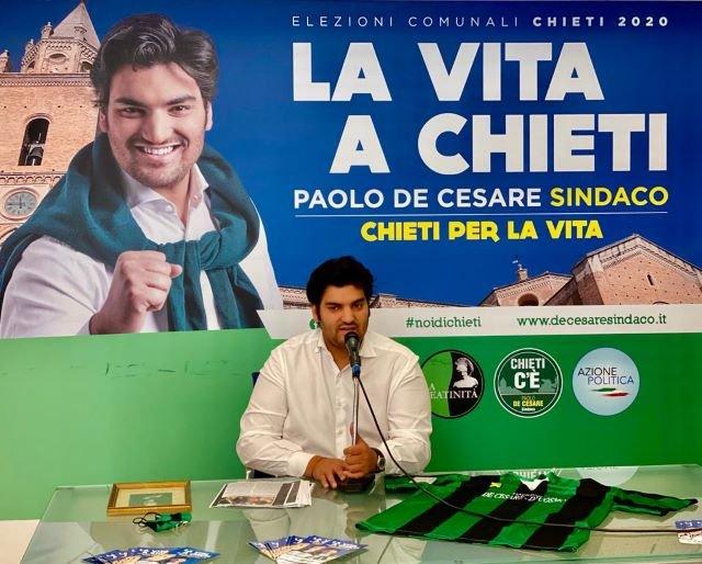 Paolo De Cesare: 'Negli anni io e la mia famiglia abbiamo fatto tanto per amore di Chieti'