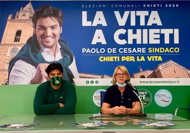 Elezioni Chieti, Paolo De Cesare e Grazia Angeloni: 'Ripartiamo dalla scuola'