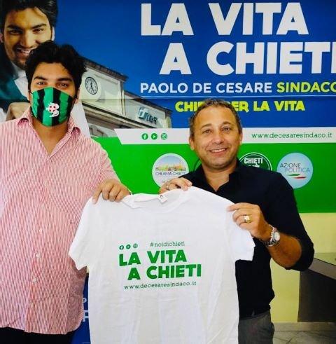Paolo De Cesare: 'Riporteremo la vita a Chieti con un ricco calendario annuale di eventi e manifestazioni'