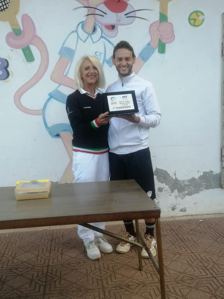 Tennis, torneo nazionale Città di Atri: il vincitore è Francesco Di Sciascio FOTO