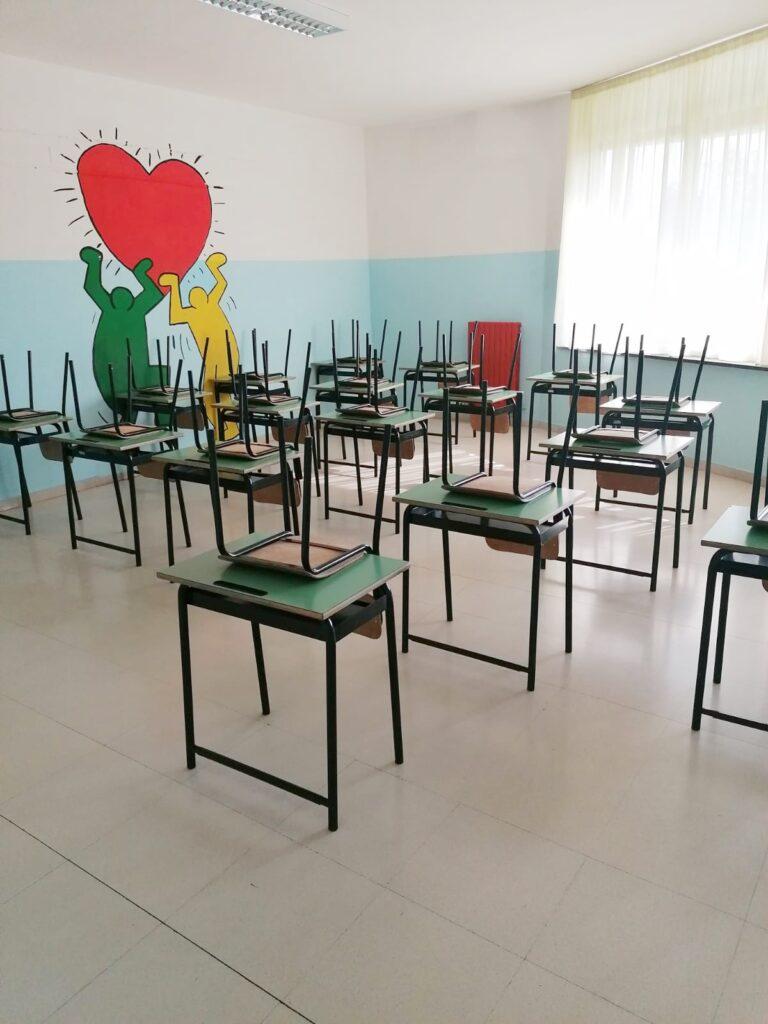 Martinsicuro, stop alla didattica in presenza in 5 classi della scuola dell'infanzia