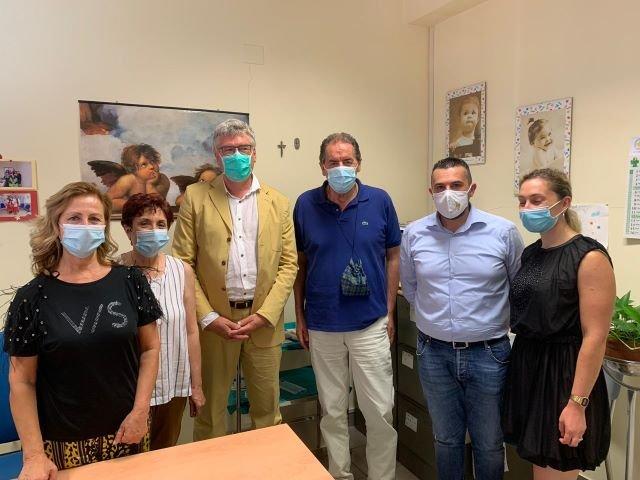 Fossacesia, il direttore generale della Asl in visita al Distretto Sanitario