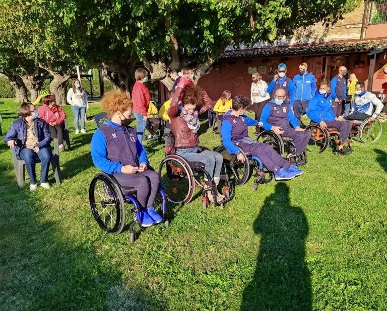 Atri, la Nazionale paralimpica in visita ai ragazzi di Rurabilandia FOTO