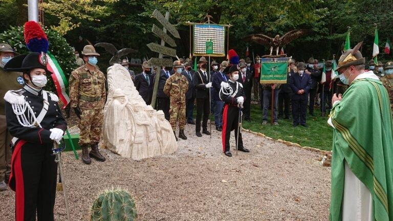 Teramo, inaugurazione del monumento per i caduti della battaglia di Selenyj Jar