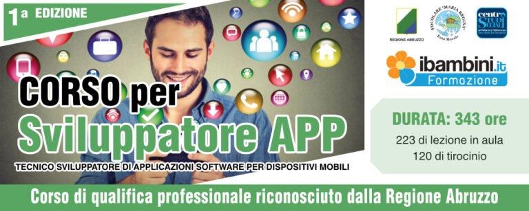 Scerne, al Centro Studi Sociali il corso per diventare sviluppatore di App