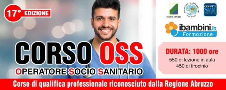 Operatore socio sanitario: da novembre il corso al Centro Studi Sociali di Scerne di Pineto