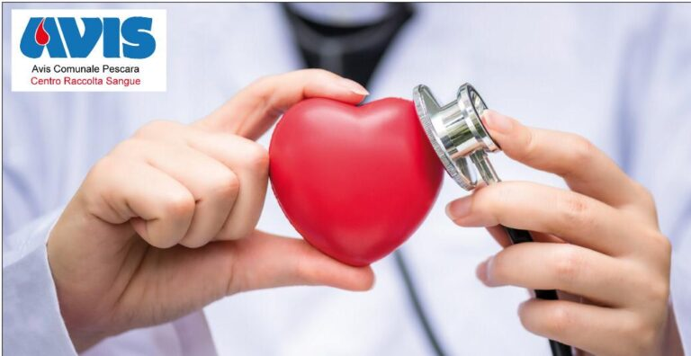 Avis Pescara: controlli cardiologici gratis per i donatori