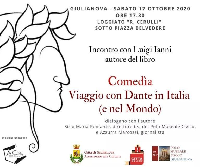 Giulianova, incontro con Luigi Ianni per un viaggio con Dante in Italia