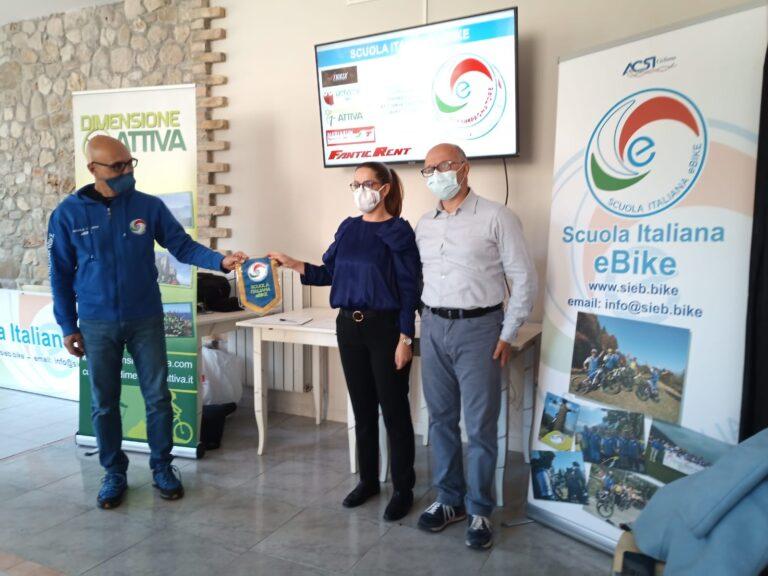 Campli, al via il primo corso di accompagnatore per e-bike