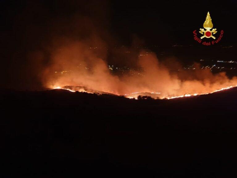 Vento caldo: ancora incendi nel pescarese