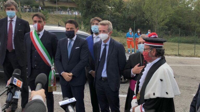 """Teramo, D'Alberto: """"Chiesto sostegno a Conte"""". Marsilio studia i progetti per Recovery Fund"""