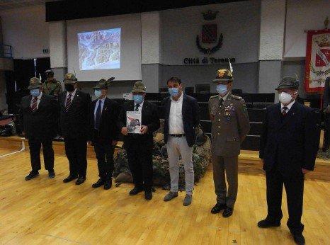 Teramo, D'Alberto conferisce la cittadinanza onoraria al Corpo degli Alpini FOTO