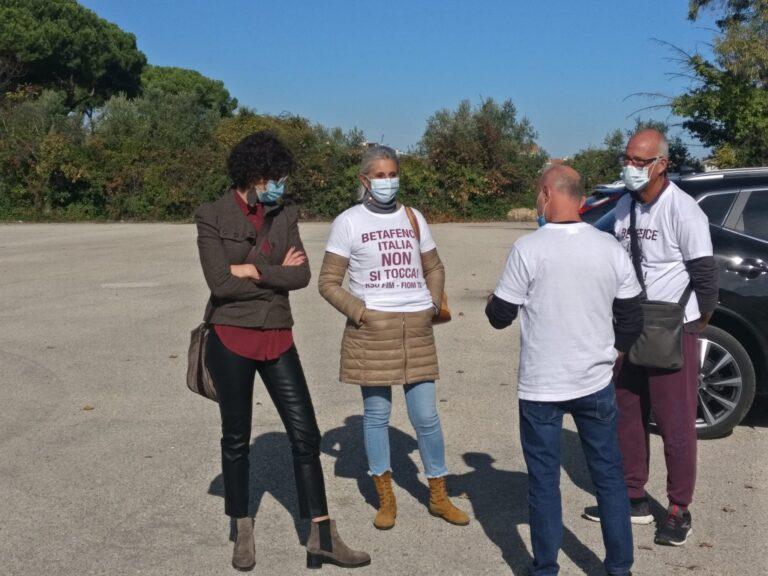 Il 5 novembre sciopero dei metalmeccanici. Alla Betafence scatta la cassa integrazione